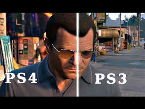 gta 5 ps4 vs ps3 graphics comparison video grand theft