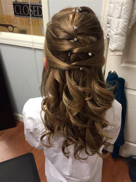 pretty hair   daddy daughter dance hairstyles