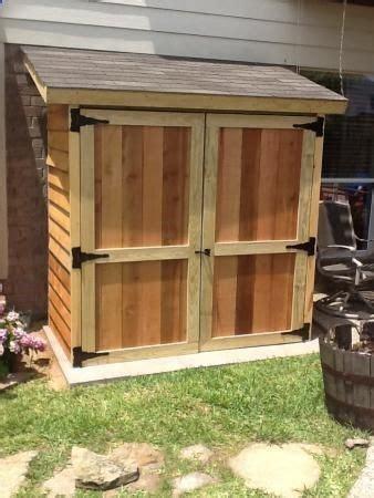 lean  shed plans images  pinterest sheds