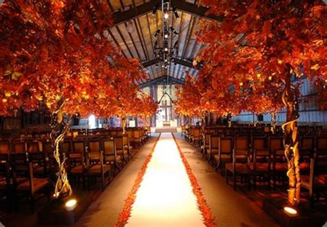 fall wedding ceremony decorations fall wedding 10 ways to rock your fall wedding knotsvilla