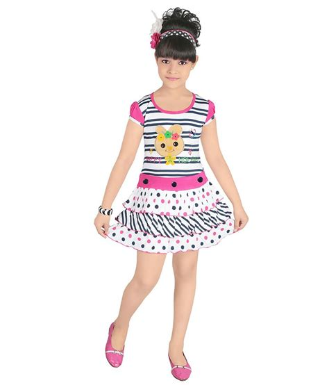 half froks pic justkids pink cotton half frock for girls buy justkids