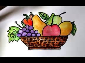 cara mudah menggambar buah buahan dalam keranjang kharasach news portal pakistan
