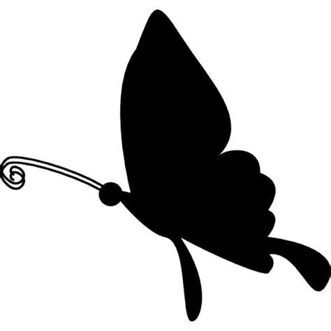 imagenes mariposas siluetas silueta de la mariposa volando descargar iconos gratis