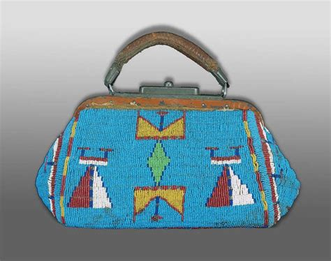 beaded purses for sale american indian beaded doctor s bag or purse sioux
