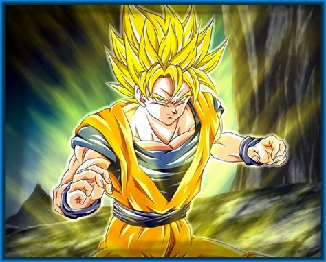 imagenes de goku transformado en super sayayin fotos de dragon ball z de goku super sayayin archivos
