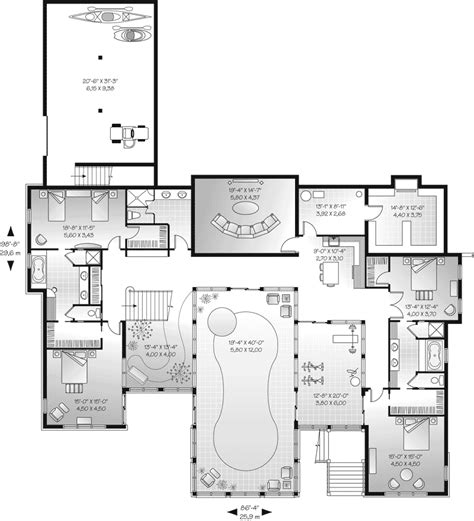 house plans and more marino manor contemporary plan 032s 0003 house plans and