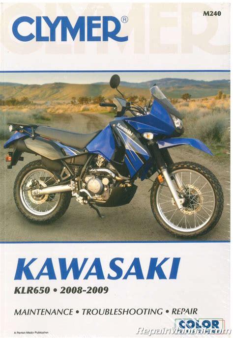 2008 2009 Kawasaki Klr650 Kl650 Motorcycle Repair Manual
