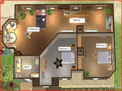 modern house floor plans sims 3 home design and style sims 3 modern house floor plans sims 3 house floor plans