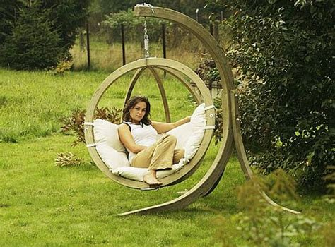 swinging in the backyard wooden outdoor swings home designs project
