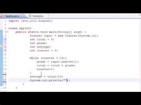 simple pattern java java programming tutorial 21 simple averaging program