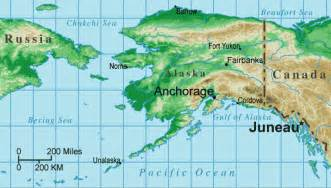 united states map with alaska capital of alaska