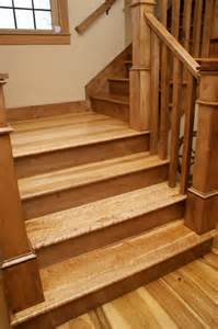 Custom Stair Treads by Custom Stair Treads And Risers Traditional Staircase