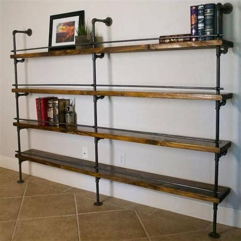 pipe shelving unit best 25 knotty pine ideas on pine walls