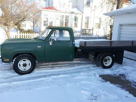 sell used 1972 dodge 1 ton dually flatbed low in