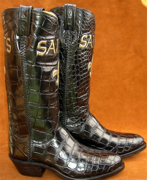 Handmade Custom Boots - sports fans tell your story with custom cowboy boots by