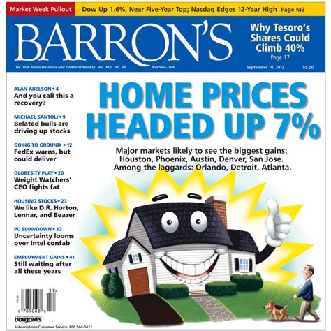 barron s cover calls housing bottom yet again the big