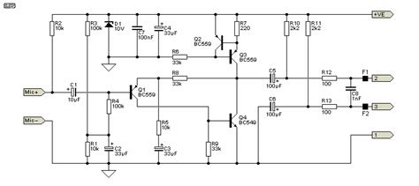 Pcb Balanced Pre Mic Meaning Of Balanced Transmission Line Electrical