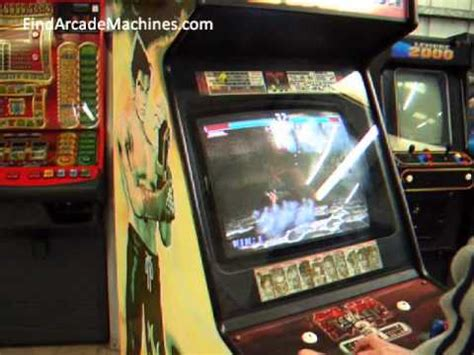 Tekken 3 Arcade Cabinet by Knocks Out Tekken 3 Arcade Machine In Play