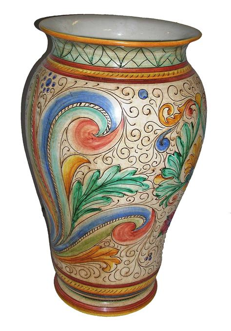 vaso deruta ceramica deruta tutto su ispirazione design casa
