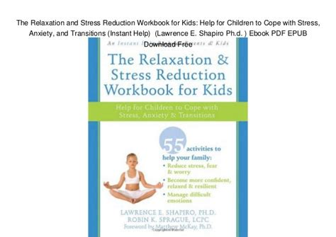 Pdf Relaxation Stress Reduction Workbook by The Relaxation And Stress Reduction Workbook For