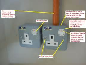 electrical installation wiring pictures metal clad socket outlets