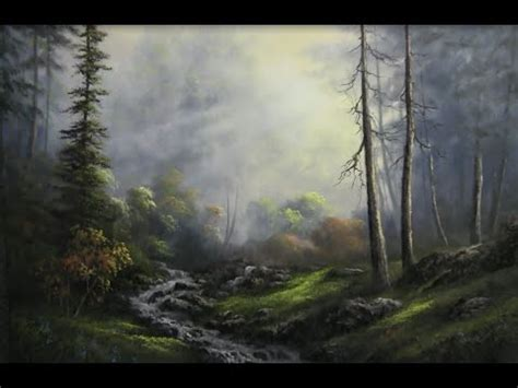 acrylic painting kevin paint with kevin hill sunlit creek