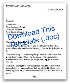 business press release template 10 best images of business press release format sle