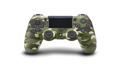 Sony Unveils Badass Green Camo Dualshock 4 Controller For Ps4