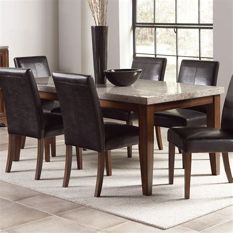 granite top dining table beautiful granite dining table set homesfeed