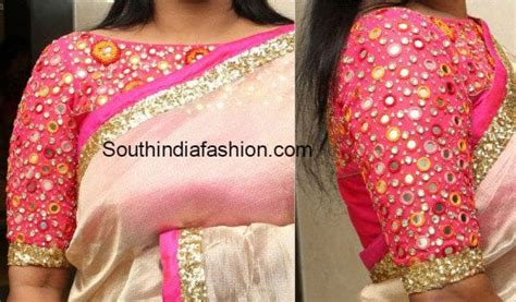 boat neck work tops boat neck blouse fashion trends south india fashion