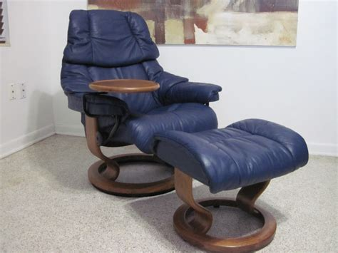 Small Blue Recliner Ekornes Stressless Recliner Chair Modern Leather Small
