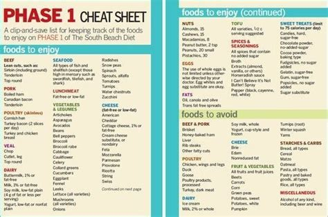 South Diet Phase 1 Detox by South Diet Phase 1 Food List 187 Aminefessi Net