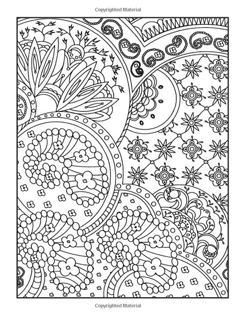 Creative Haven Crazy Paisley Coloring Book (Dover Design