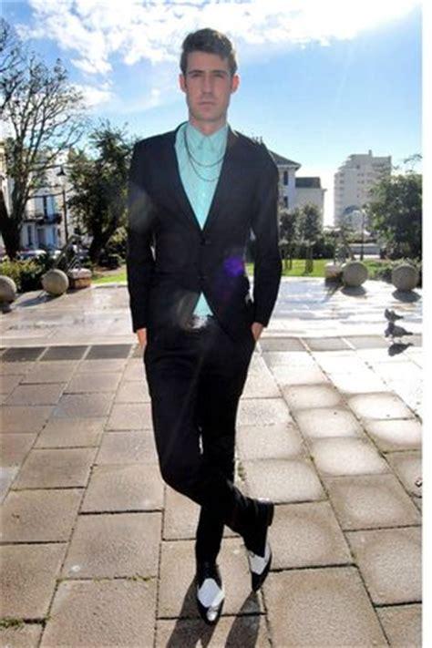 s blue shirts black suits white shoes quot gold