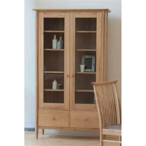 Ercol Display Cabinet by Ercol Teramo 3666 Display Cabinet