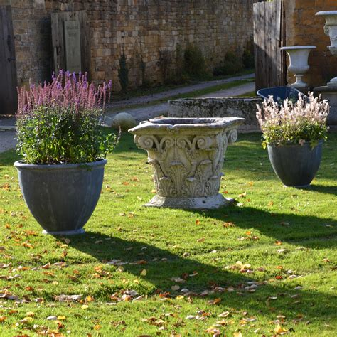 Lead Garden Planters the townhouse lead garden planter small architectural heritage