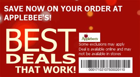applebees coupons save w 2015 coupons amp coupons