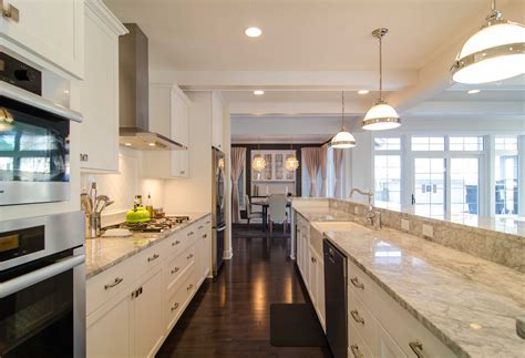 galley kitchen with island 30 beautiful galley kitchen design ideas decoration
