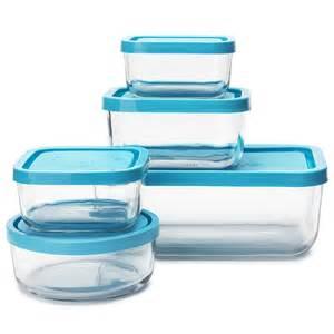 Gift Wrapping Storage Ideas - bormioli rocco frigoverre storage container set 5pce