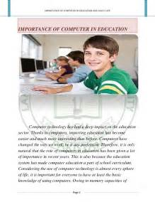 Computer In Education Essay by Computerized Education Essay Writefiction581 Web Fc2