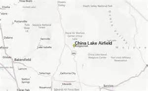 china lake airfield weather station record historical