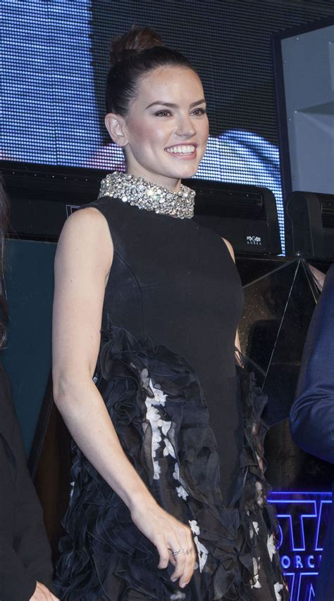 meet new star wars 7 star daisy ridley in this sci fi short film daisy ridley at fan meeting for star wars episode vii
