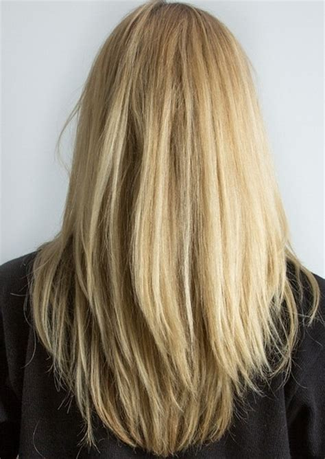 long hair with layers in bottom long layered haircuts back view