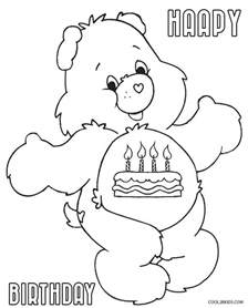 carebear free coloring pages art coloring pages
