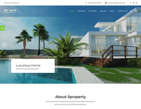 50 Best Real Estate Website Templates Free Premium Freshdesignweb Best Real Estate Templates