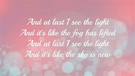 i see the light lyrics tangled i see the light with lyrics hd youtube