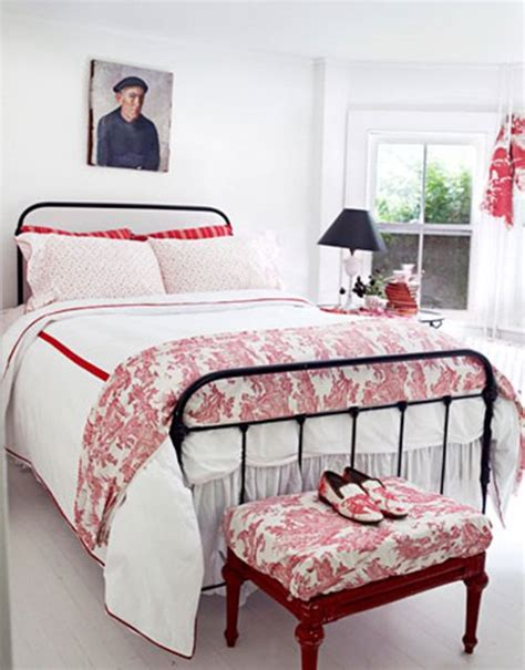 all red bedroom fabric and home decor interesting color combinations