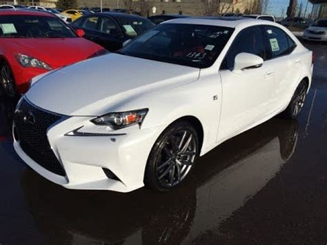 white lexus red new white on red 2015 lexus is 350 awd f sport series 2