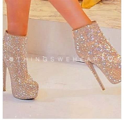 bedazzled high heels shoes booties high heels bedazzled gold ankle boots