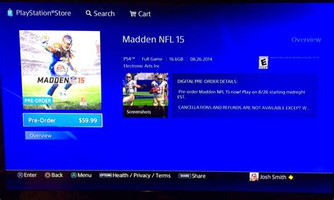 Madden 15 release date app store